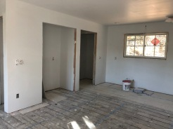 Pantry and back door